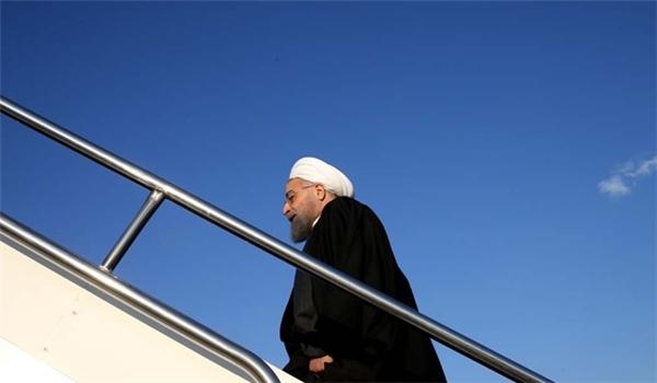 الرئيس روحاني يغادر بانكوك في ختام جولته لجنوب شرق آسيا