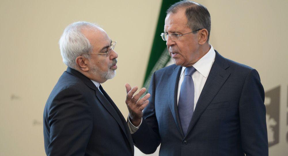 ظریف یلتقی بوزیر الخارجیة الروسی