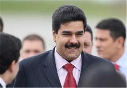 الرئیس الفنزویلی یصل طهران للقاء مع الرئیس روحانی