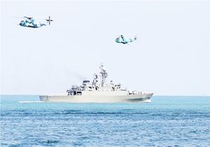 عودة سفن حربية ايرانية للبلاد في ختام زيارتها لباكو