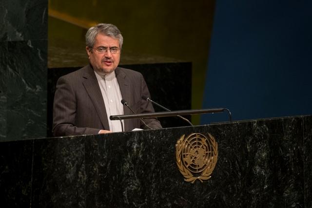 ايران تعلن استعدادها ارسال قوات حفظ السلام
