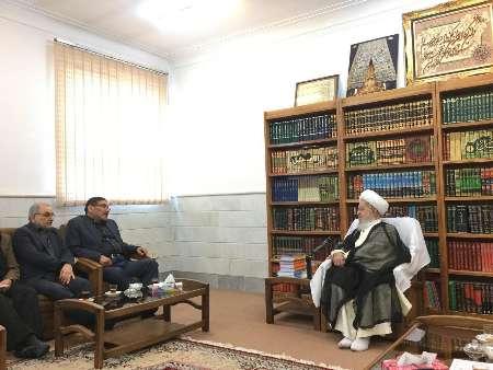 شمخاني يؤكد الاستفادة من اراء مراجع الدين بهدف الاداء الامثل في ادارة شؤون البلاد