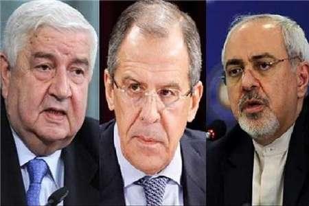 لافروف وظريف يؤكدان ضرورة مكافحة الارهاب في سورية بحزم دون أي تنازلات