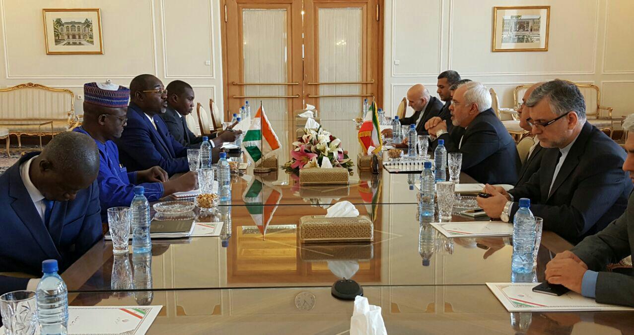 لقاء وزراء خارجية ايران والنيجر
