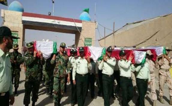 وصول رفات 78 من شهداء الدفاع المقدس الی ایران