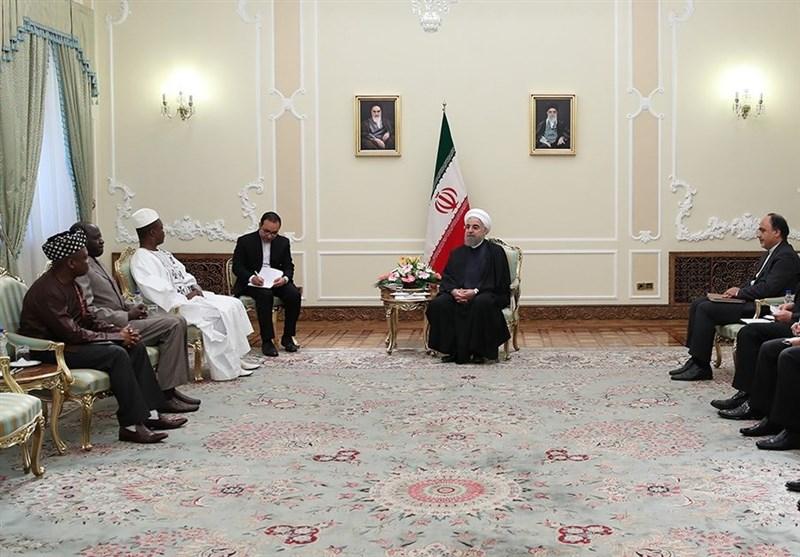 الرئيس روحاني: نرغب بتنمية العلاقات الشاملة مع امريكا اللاتينية