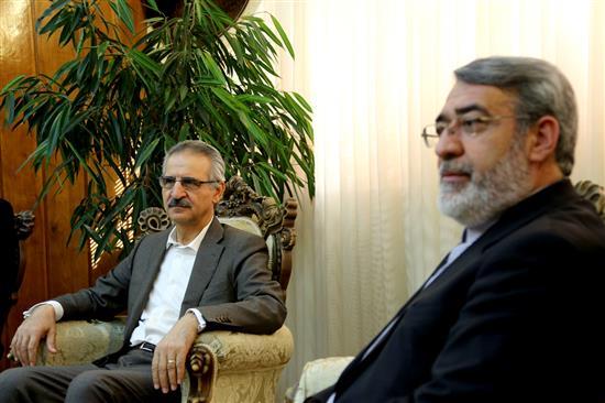 وزير الداخلية: الجمهورية الاسلامية تساند مسلمي العالم