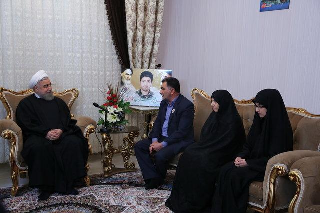 الرئيس روحاني: المقاومة وروح التضحية والاستشهاد لدي شبابنا باعث عزة وعظمة وطننا