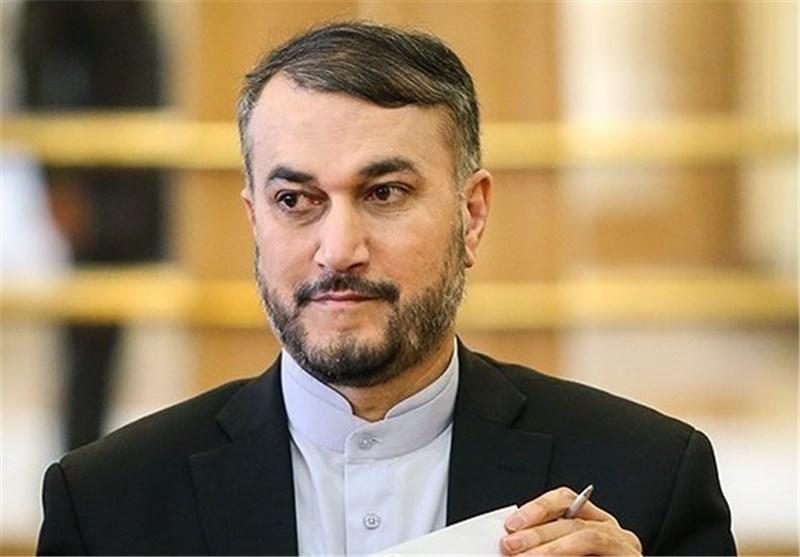 عبد اللهيان: زيارة رئيس الوزراء الصهيوني الى باكو مقدمة لفتنة جديدة بالمنطقة