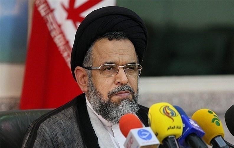 وزير الامن الايراني يصف تصريحات رئيسة وزراء بريطانيا ضد طهران بالدعائية