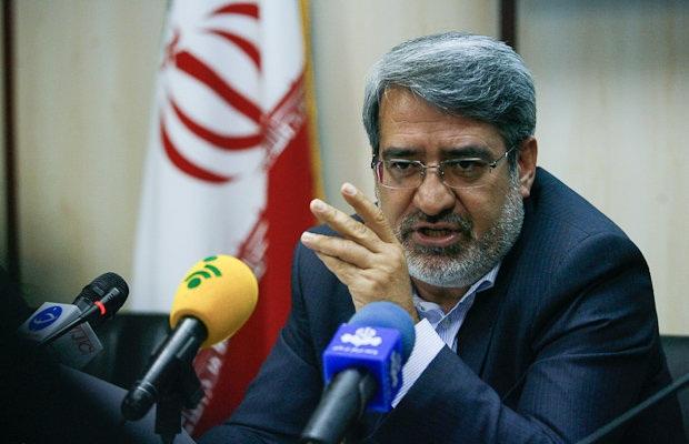 وزير الداخلية الايراني: لم يتم تنفيذ أي هجوم داخل البلاد