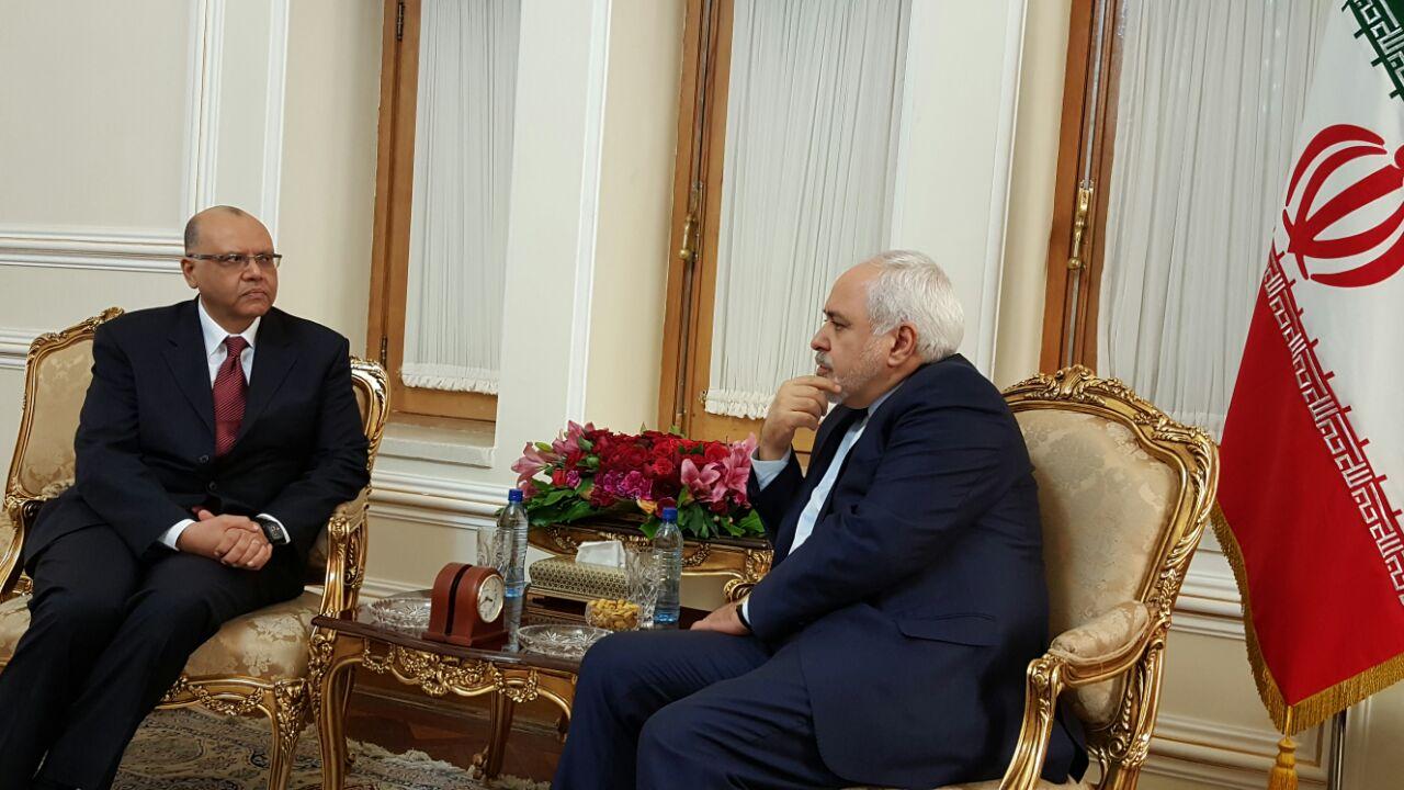 وزير الخارجية الايراني يستقبل المدير الجديد لمكتب رعاية المصالح المصرية