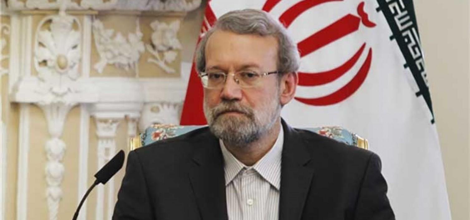 لاريجاني: تفعيل القضية الفلسطينية واجب على جميع الدول الاسلامية