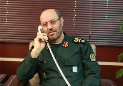 وزيرا الدفاع الايراني والروسي يبحثان احدث التطورات السورية