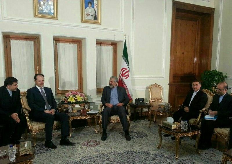 سرمدي يؤكد ضرورة رفع العقبات المصرفية بين ايران والبوسنة