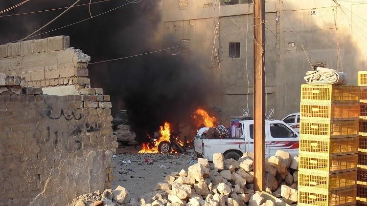 إصابات في تفجير بالرمادي غرب العراق