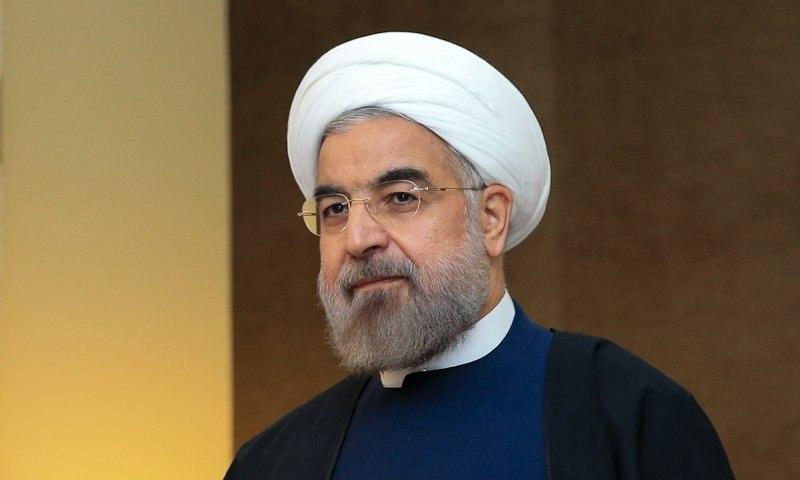 روحاني: نأمل بأن نشهد عالما زاخرا بالامن والاستقرار في العام الميلادي الجديد
