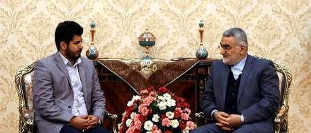 بروجردي: دعم ايران لمحور المقاومة يستند الى الدستور