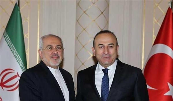 وزير الخارجية التركي يجري محادثات هاتفية مع نظيريه الايراني والروسي حول سوريا
