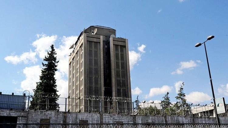 موسكو: تعرض السفارة الروسية في دمشق لقصف من قبل إرهابيين مساء أمس