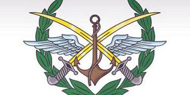 القيادة العامة للجيش السوری تعلن وقفا شاملا للأعمال القتالية في جميع الأراضي السورية