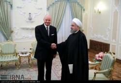 روحاني: ألمانيا شريكة ايران الأولي في الاتحاد الأوروبي
