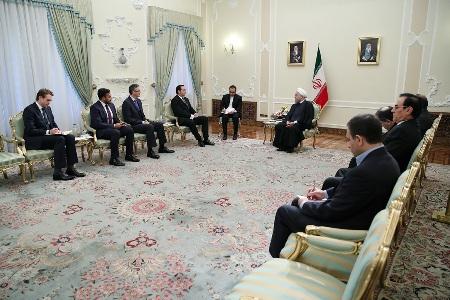 روحاني: ايران ترحب بترسيخ التعاون مع الاتحاد الاوروبي