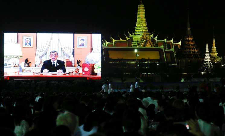 ملك تايلاند يدعو للوحدة في أول خطاب بمناسبة العام الجديد