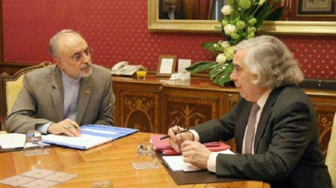 وزير الطاقة الايراني يبلغ اعتراض ايران لنظيره الامريكي بشأن تمديد العقوبات