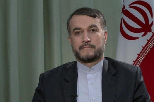 عبداللهيان يؤكد استمرار دعم ايران للشعب الفلسطيني وفصائله المقاومة