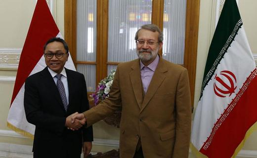 لاريجاني: يجب على الدول الاسلامية الوقوف في مواجهة التيارات الارهابية