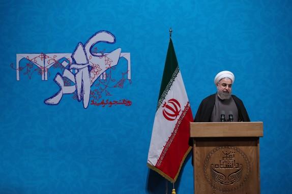الرئيس الايراني: لقد برهنا أن بلادنا لا تُشكل تهديدا لأحد