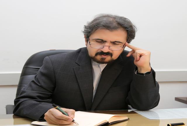 قاسمي: تكرار المزاعم الواهية لن تؤثر على وحدة وسيادة الاراضي الايرانية