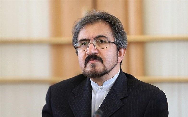 وزارة الخارجية الايرانية تنتقد تصريحات رئيسة وزراء بريطانيا تيريزا ماي في اجتماع مجلس التعاون