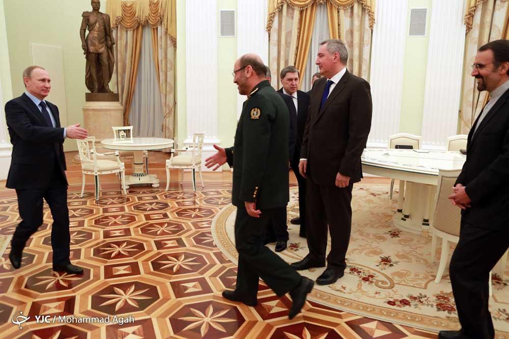 العمید دهقان: العلاقات بین طهران و موسكو استراتيجية و طويلة المدي+بالصور