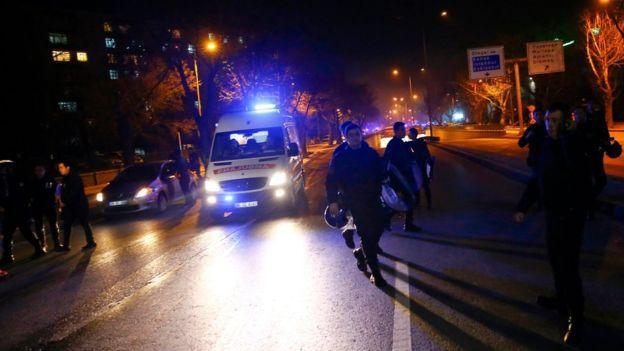 مقتل 28 شخصا، على الأقل، في انفجار وسط أنقرة