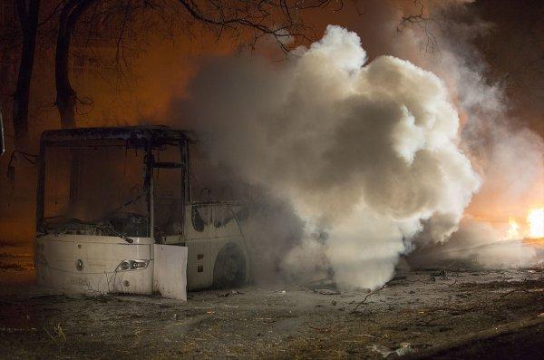 مقتل 28 شخصا، على الأقل، في انفجار وسط أنقرة+بالصور
