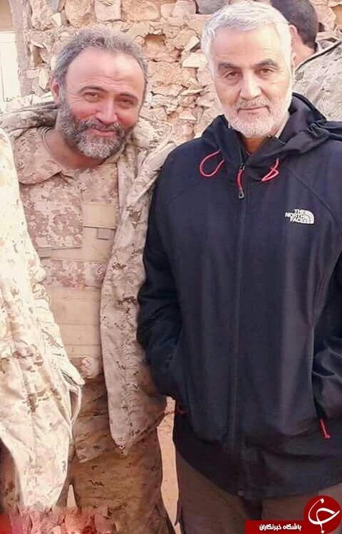 بالصورة: اللواء قاسم سليماني يظهر في ثوب جديد