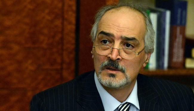بشار الجعفري: حل الأزمة في سوريا سياسي