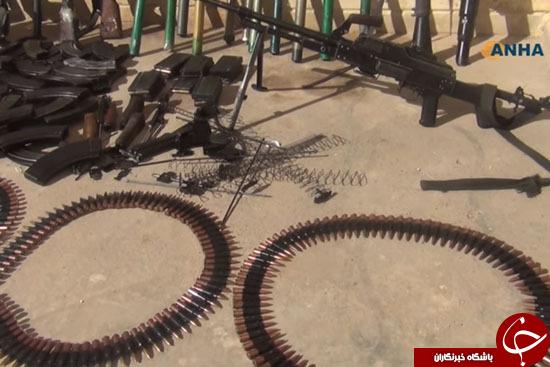 ذخائر داعش الرهيبة+ الصور و الفيديو