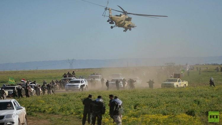 القوات العراقية تحرر 150 عائلة من قبضة داعش في عملية سامراء