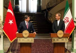 جهانغيري: مصالح ايران و تركيا المشتركة رهن بالامن و الاستقرار في المنطقة