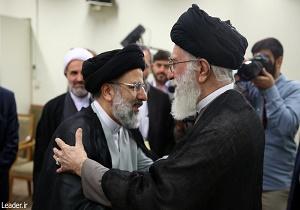قائد الثورة الاسلامية يعين حجة الاسلام رئيسي كسادن العتبة الرضوية المقدسة