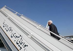 ظريف يغادر طهران الي نيويورك