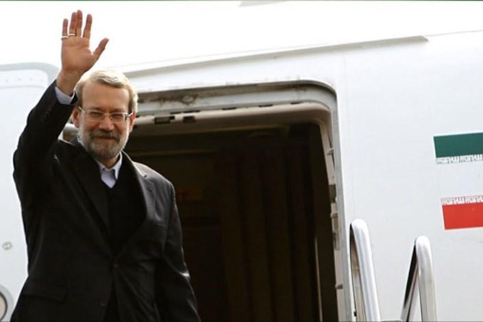 لاريجاني يغادر طهران نحو موسكو