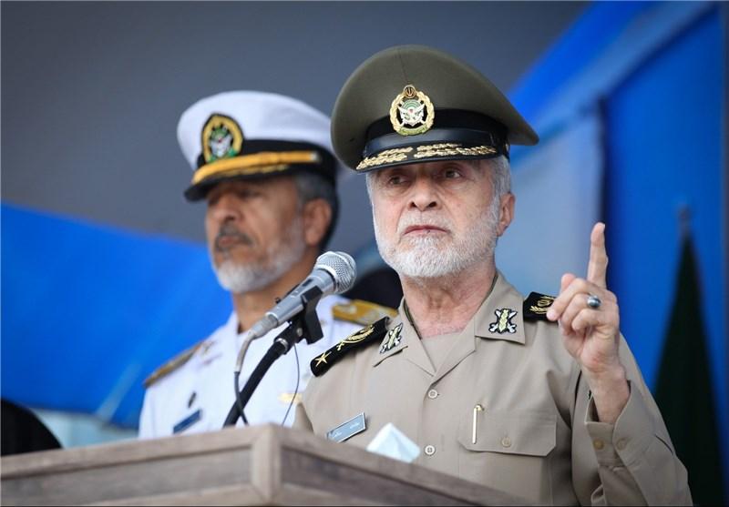 اللواء صالحي: حذرنا اسطول التحالف من اقتراب لناقلتنا في الخليج الفارسي
