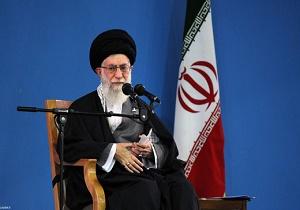 قائد الثورة الاسلامية يستقبل آلاف من العمال
