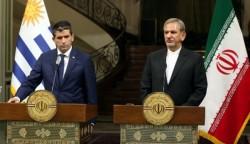 ايران والاوروغواي تؤكدان على مكافحة الارهاب وتعزيز العلاقات الثنائية