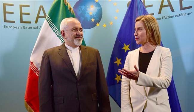 موغرینی: ارتفع مستوی التبادلات التجاریة بین ایران و الاتحاد الاوروبی بنسبة 22 فی المئة