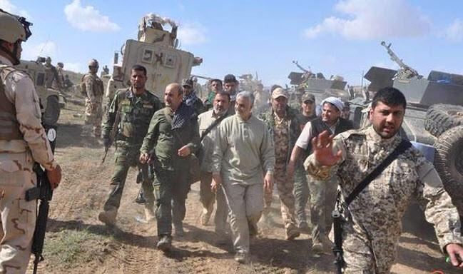 الحرس الثوری یشترط کف السعودیة عن الشعب العراقی شرطا لخروج اللواء سلیمانی عن العراق